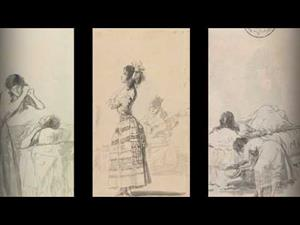 """Album A. Goya. Drawings. """"Only my Strength of Will Remains"""""""