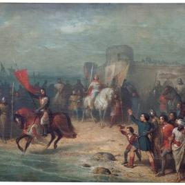 Santa Cruz sobre las aguas (boceto)
