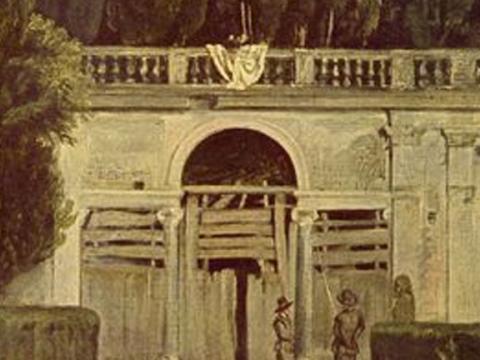 <em>Vista del jardín de la Villa Medici en Roma</em>, Diego Rodríguez de Silva y Velázquez, comentada por Pedro Laín Entralgo