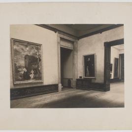 Museo del Prado, vista de dos salas con obras de Velázquez y El Greco