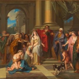 Susana acusada de adulterio