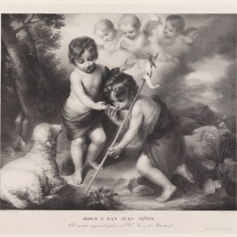 The Infant Christ and Saint John the Baptist with a Shell