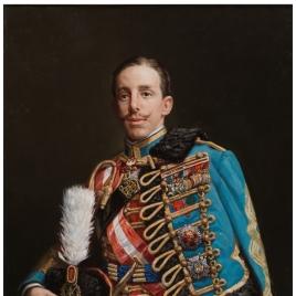 El rey Alfonso XIII