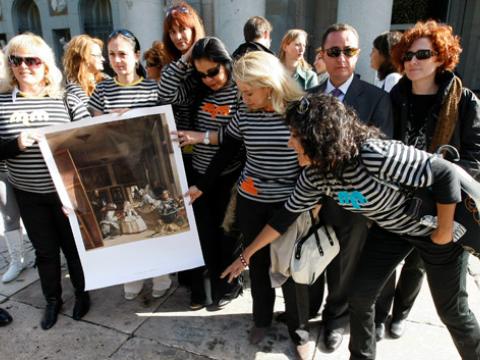 Las Malas Meninas toman el Prado