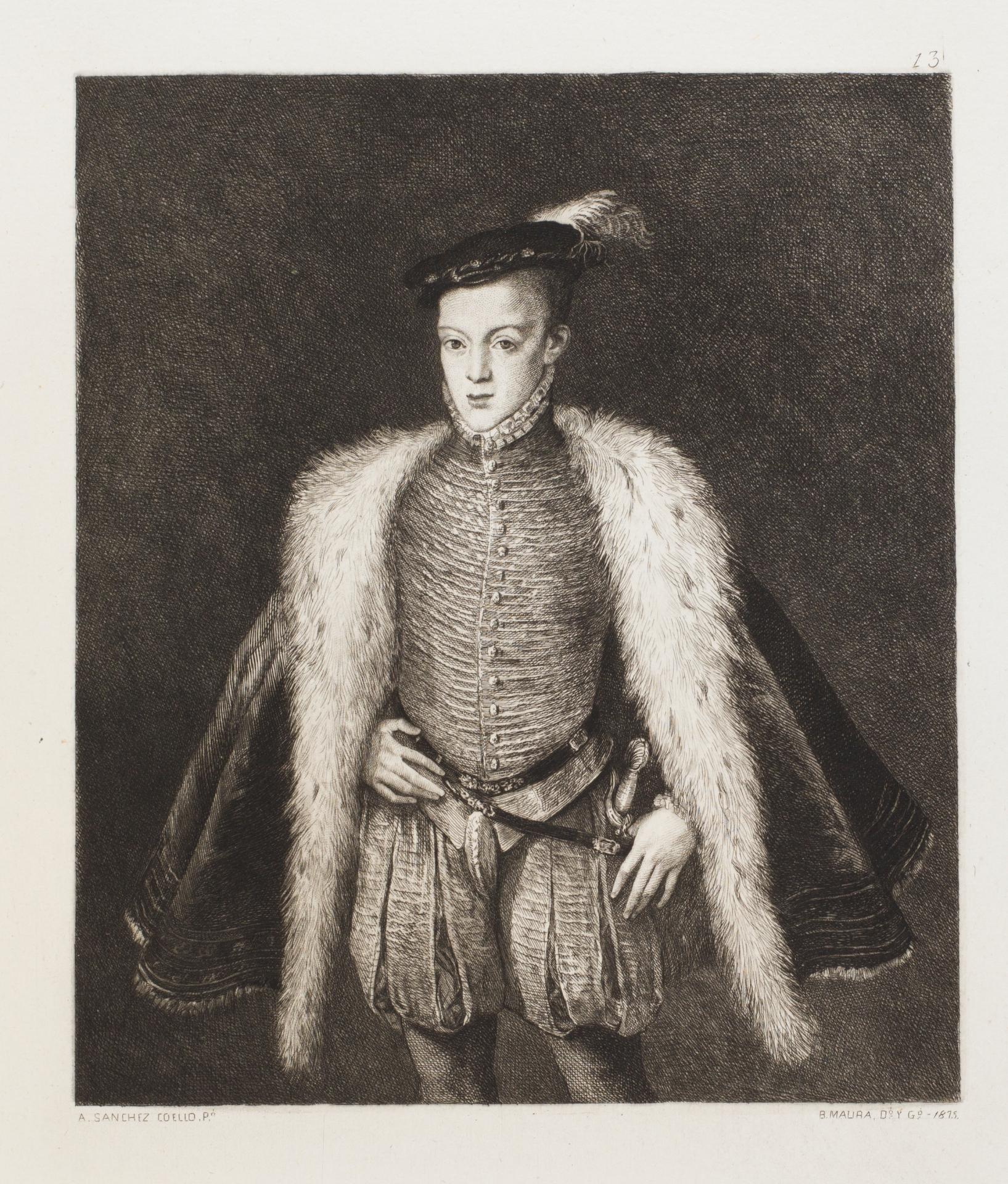 El príncipe don Carlos - Colección - Museo Nacional del Prado