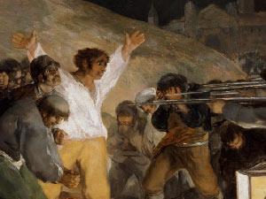 Cartelas de Los fusilamientos de Goya