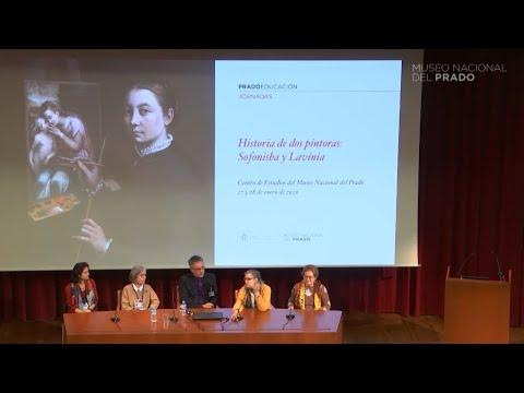 """Debate """"Historia de dos pintoras: Sofonisba y Lavinia"""" (mañana del 28 de enero)"""