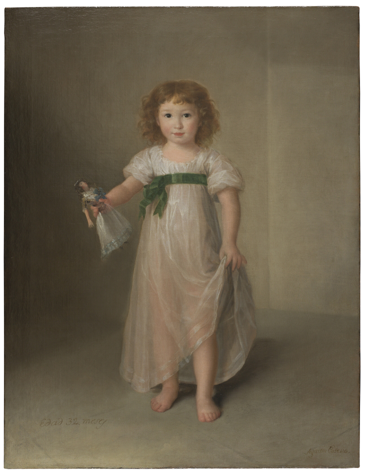 Portrait of Manuela Isidra Téllez-Girón, future Duchess of Abrantes