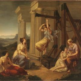 Las griegas del columpio