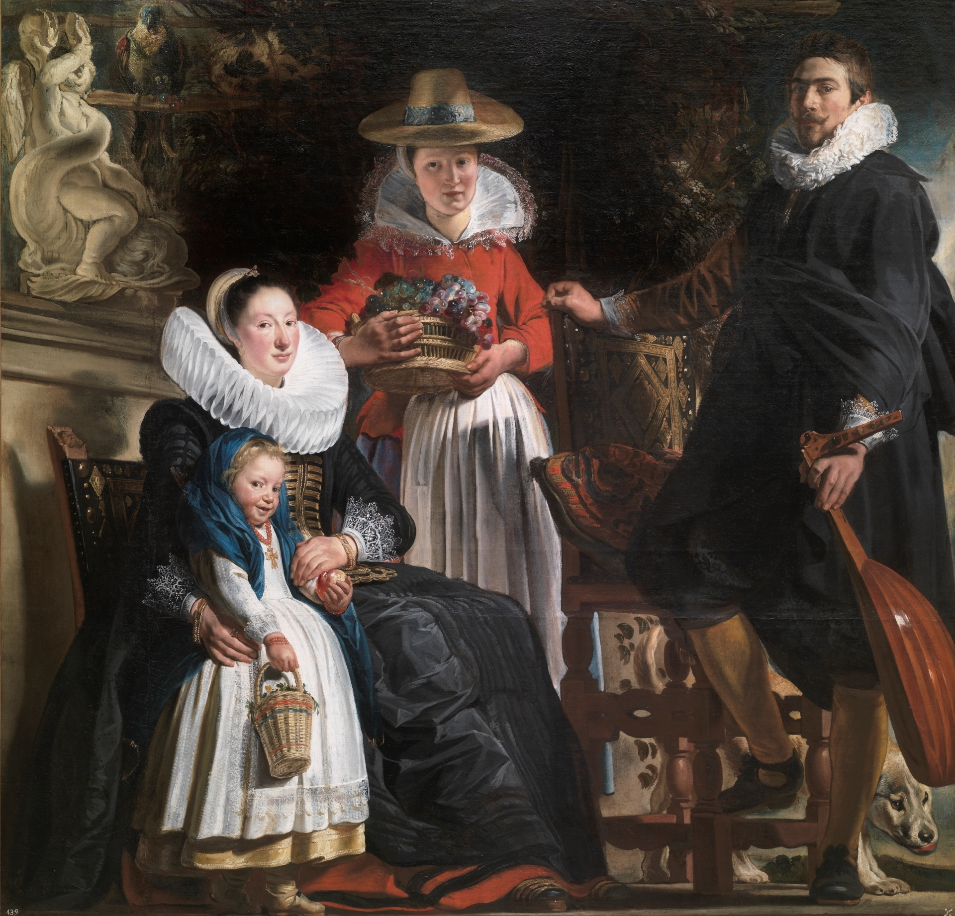 Jacob Jordaens: paintings with titles and descriptions 88