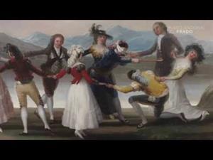 "Goya's technique in the ""Blind Man's Buff"""