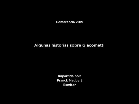 Algunas historias sobre Giacometti