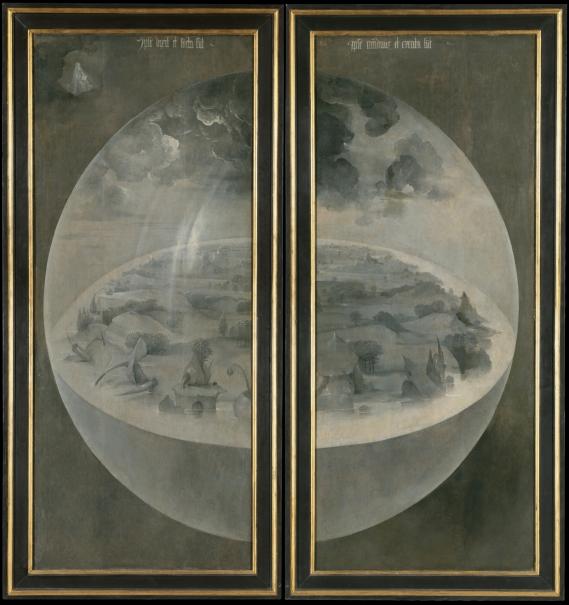 The Garden Of Earthly Delights Triptych The Collection Museo Nacional Del Prado