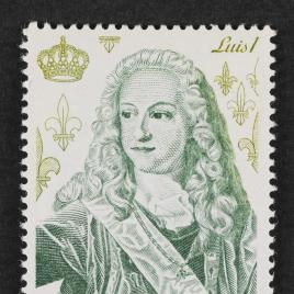 Serie de sellos Reyes de España. Casa de Borbón