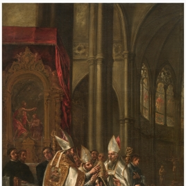 The Consecration of Saint Ambrose as Archbishop