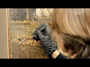 "The restoration of ""The Triumph of Death"" by Pieter Bruegel ""the Elder"""