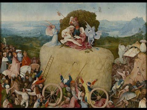 Obras comentadas: Tríptico del carro de heno, El Bosco (h. 1512-15)