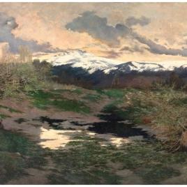 El pico de Peñalara (Rascafría)