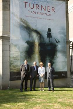 """La Comunidad de Madrid y Fundación AXA suman su apoyo para la celebración de la gran exposición """"Turner y los maestros"""" en el Museo del Prado"""
