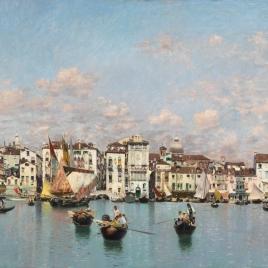 La Riva degli Schiavoni en Venecia