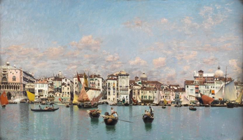 The Riva degli Schiavoni in Venice