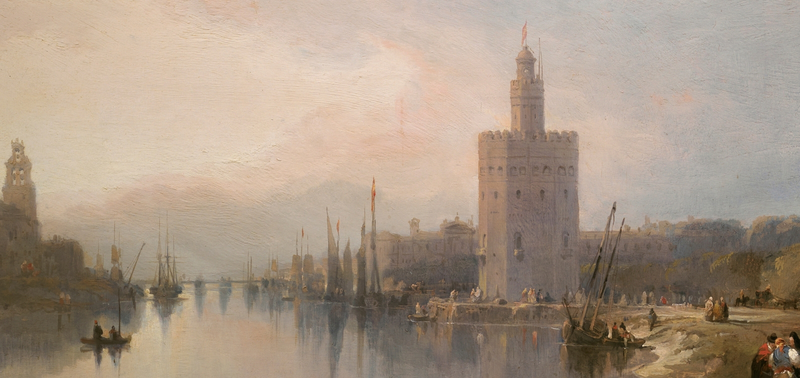A cualquier otra parte. Parada V. La Torre del Oro de Sevilla