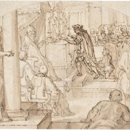 Ofrenda de Constantino / Tres estudios para la figura de un joven