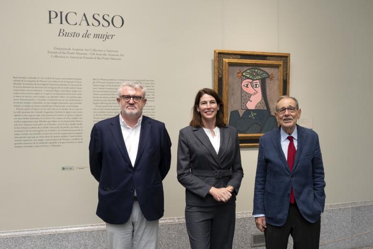 El Museo Nacional del Prado expone  Busto de mujer de Picasso