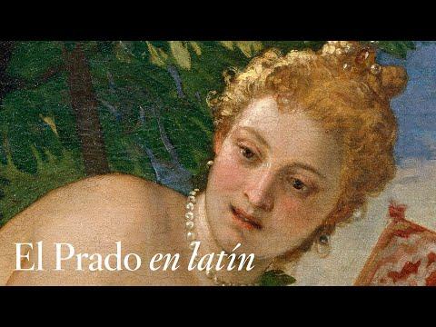 """""""Venus y Adonis"""", de Veronés, con comentarios en latín"""