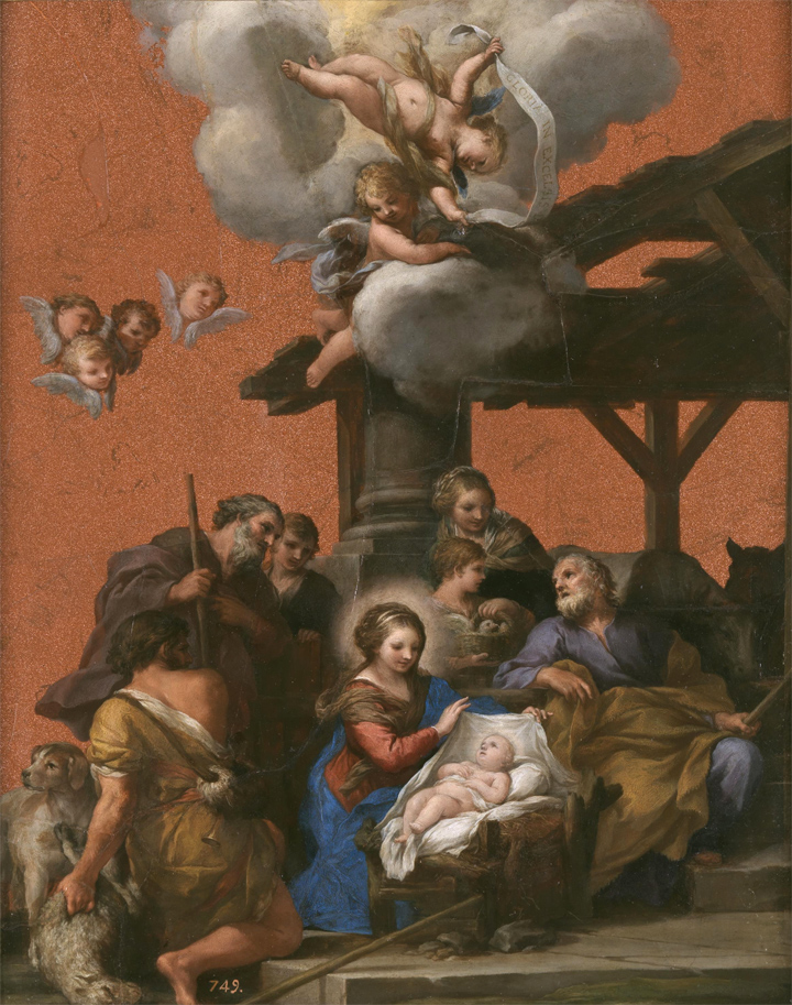 The Restoration of The Adoration of the Shepherds by Pietro da Cortona