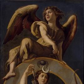 La Luna. Diana con el signo de Cáncer
