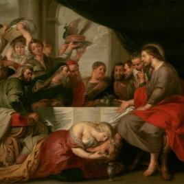 La Magdalena en casa del fariseo