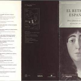 El retrato español : del Greco a Picasso : cursos monográficos /Museo Nacional del Prado.