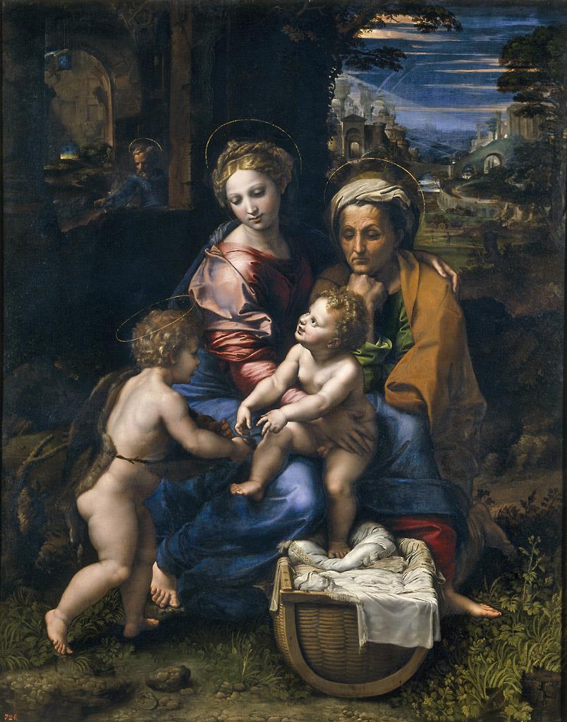Sagrada Familia, llamada «la perla» [Rafael]