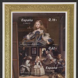 Serie de sellos Pintura Española