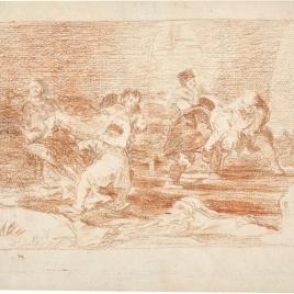 Heridos evacuados del campo de batalla
