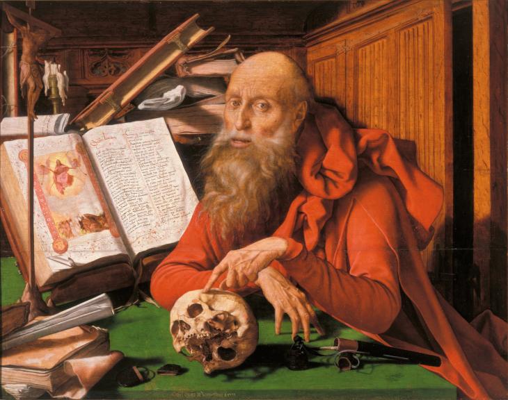 Saint Jerome, saint and scholar