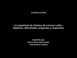 La exposición de retratos de Lorenzo Lotto (versión en español)