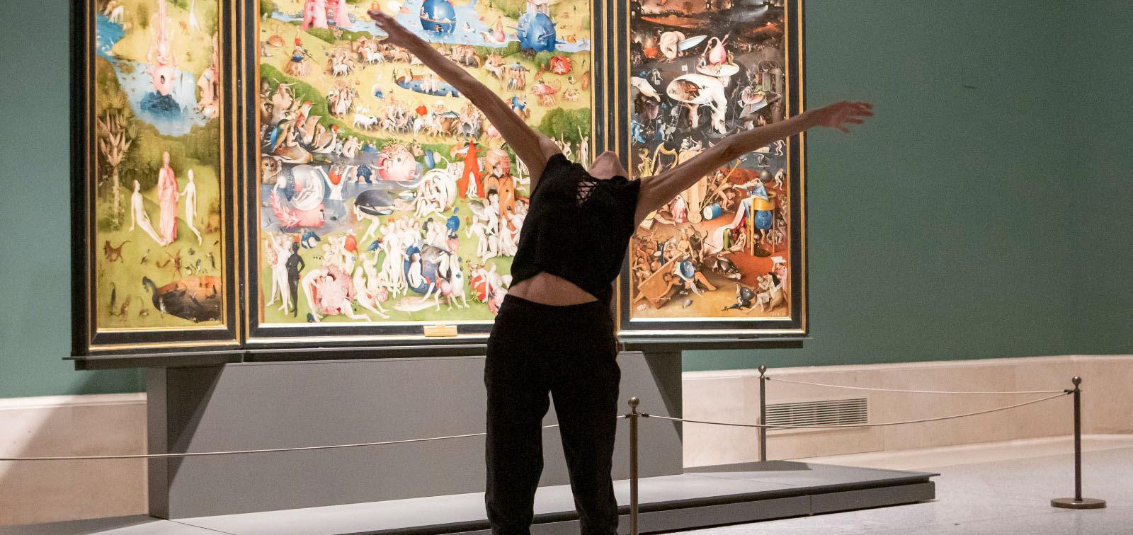 Danza en el aniversario del Museo