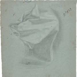 Parte inferior de manto para la figura de San Marcos
