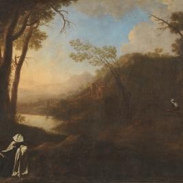 Landscape with Carmelites