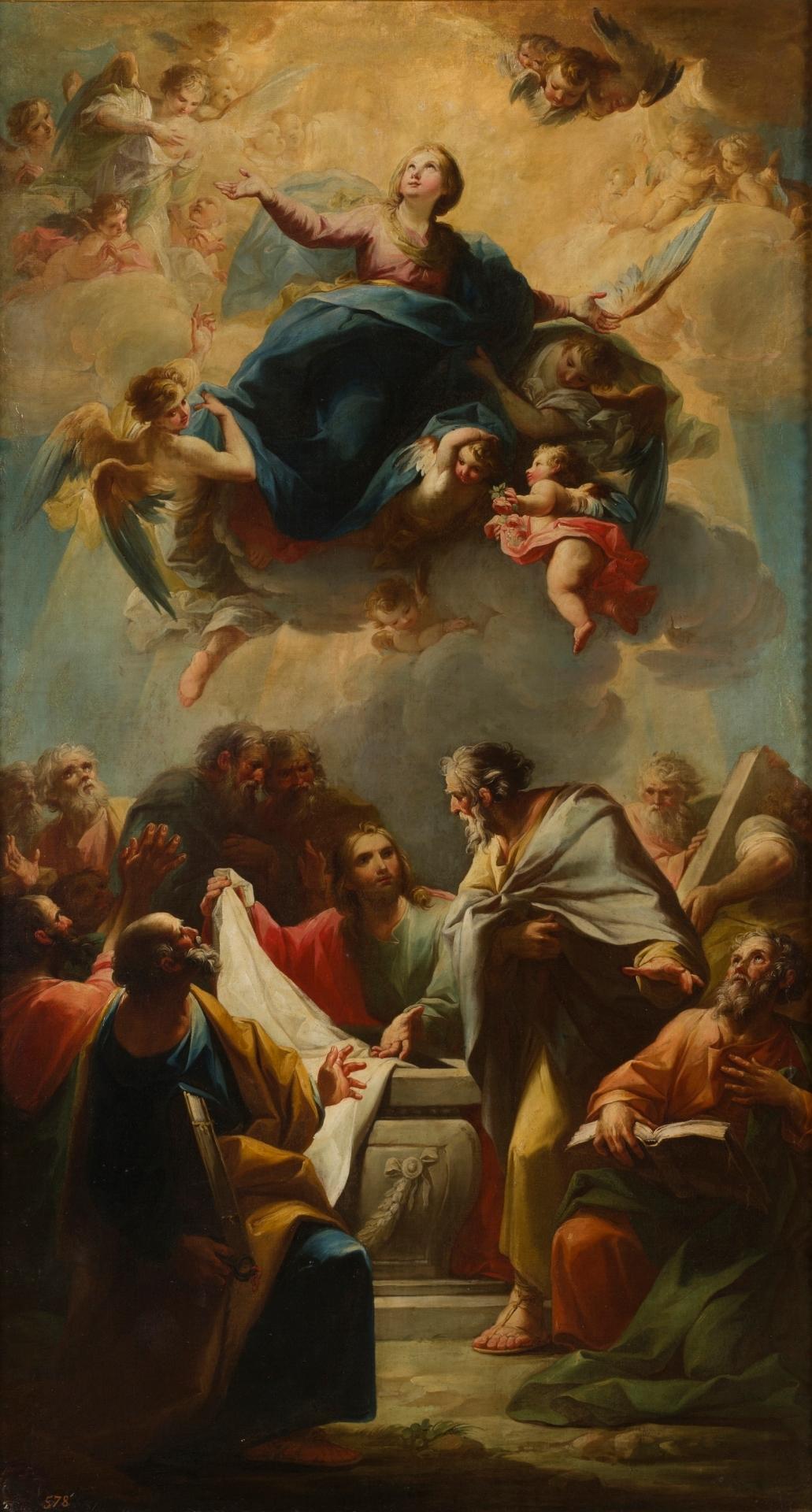 La Asuncion De La Virgen Coleccion Museo Nacional Del Prado