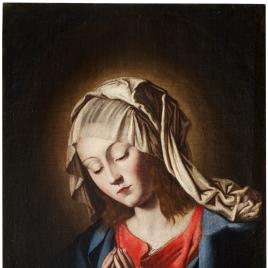 La Virgen en oración