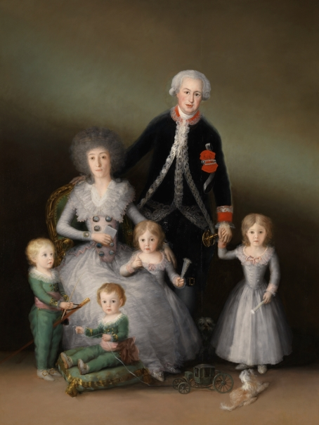 The Duke and Duchess of Osuna and their Children