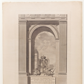 Cover illustration from the Collection of different views of the Royal Monastery of San Lorenzo de El Escorial