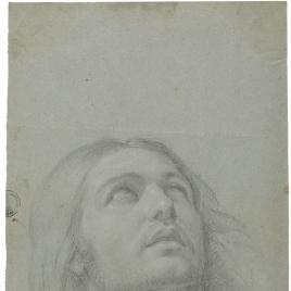 Cabeza para la figura de San Juan Evangelista
