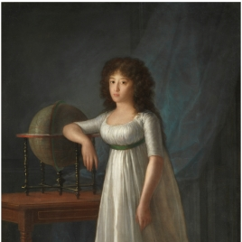 Joaquina Téllez-Girón, daugther of the 9th Duke and Duchess of Osuna