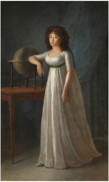 Joaquina Téllez-Girón, daugther of the 9th Duke and Duchess of Osuna