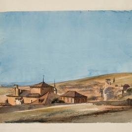 Vista del convento de San Juan de la Cruz, Segovia