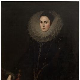Retrato de dama, probablemente Dª Catalina de la Cerda